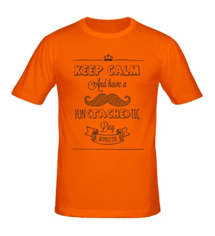 Мужская футболка Позитивный день