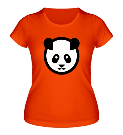 Женская футболка Символ панды