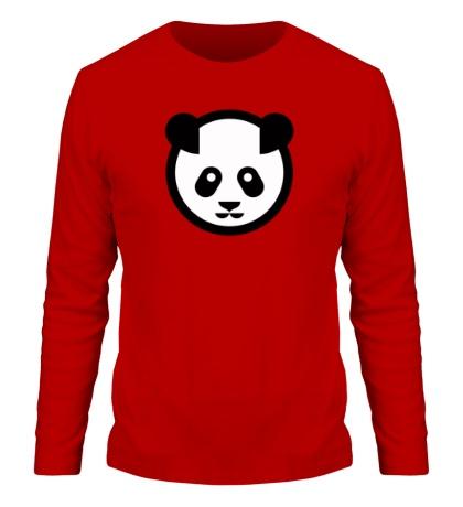 Мужской лонгслив Символ панды