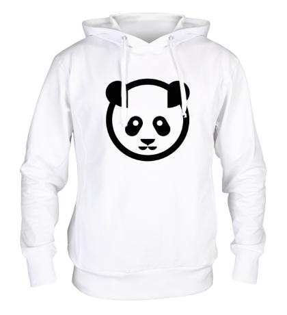 Толстовка с капюшоном Символ панды