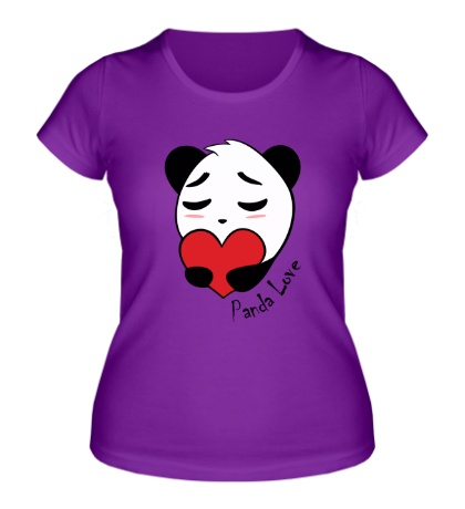 Женская футболка Panda Love