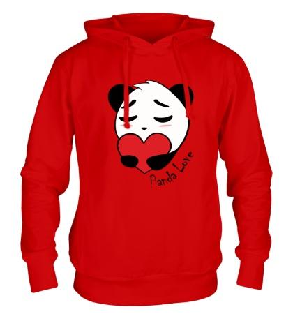 Толстовка с капюшоном Panda Love