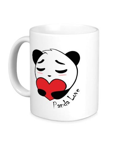 Керамическая кружка Panda Love