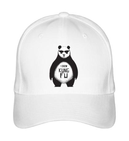 Бейсболка Панда знает Кунг-Фу