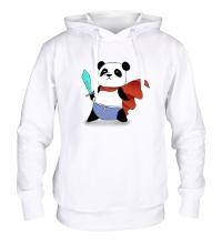 Толстовка с капюшоном Панда Герой