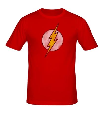 Мужская футболка Символ Флэша