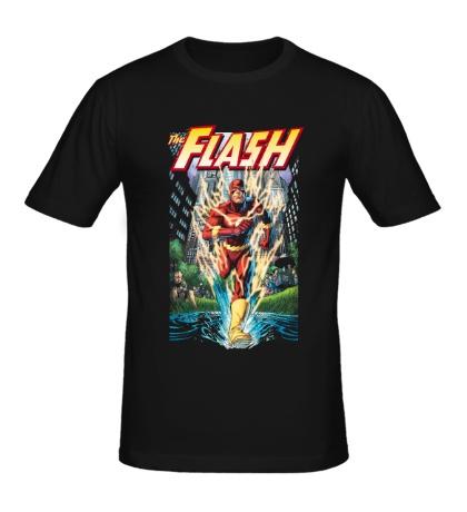 Мужская футболка The Flash: Crimson Comet