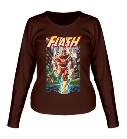 Женский лонгслив The Flash: Crimson Comet