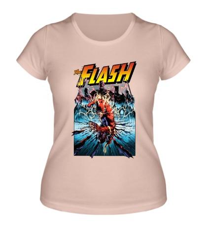 Женская футболка The Flash: Poster