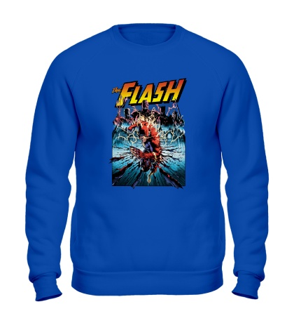 Свитшот The Flash: Poster