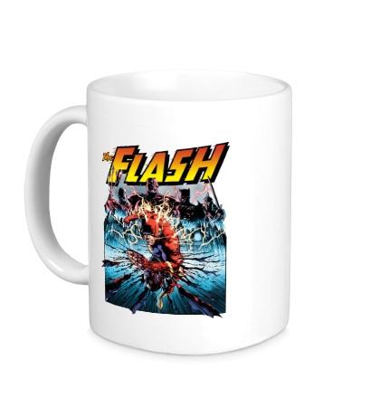 Керамическая кружка The Flash: Poster