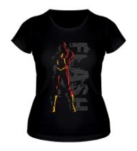 Женская футболка Super Flash