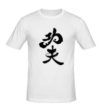 Мужская футболка Po the Kung Fu Panda