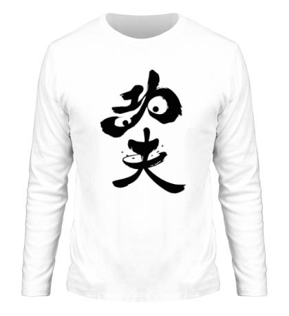 Мужской лонгслив Po the Kung Fu Panda