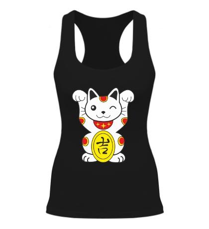 Женская борцовка Японский котик