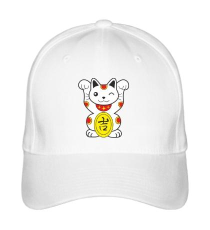Бейсболка Японский котик