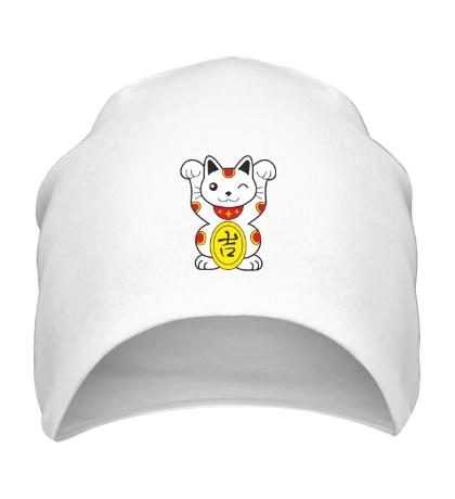 Шапка Японский котик
