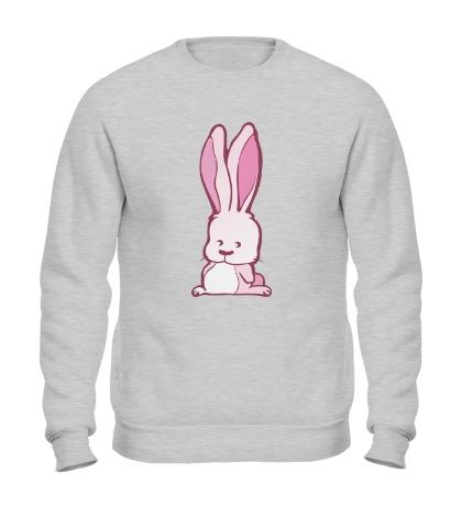 Свитшот Розовый зайчик