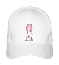 Бейсболка Розовый зайчик