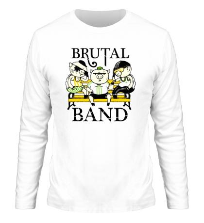 Мужской лонгслив Brutal Band
