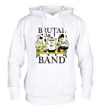 Толстовка с капюшоном Brutal Band