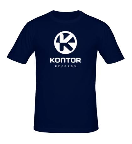 Мужская футболка Kontor Records