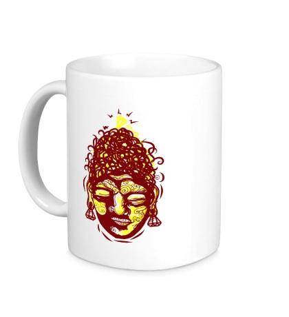 Керамическая кружка Божество Шива