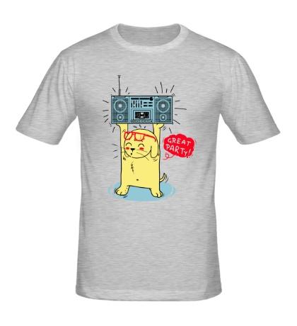 Мужская футболка Great party