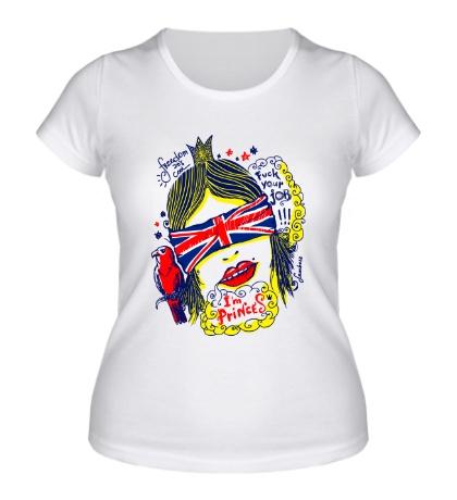 Женская футболка Im princess