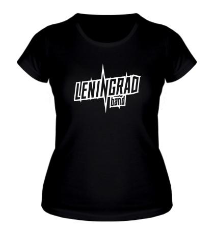 Женская футболка Leningrad Band