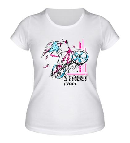 Женская футболка Street Rider