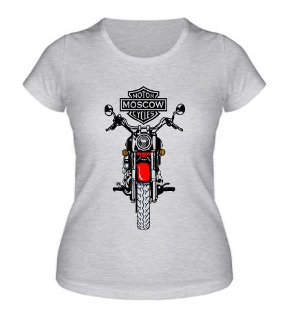 Женская футболка Moscow Motofestival