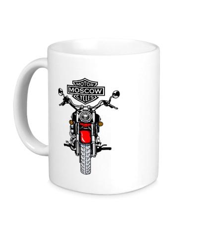 Керамическая кружка Moscow Motofestival