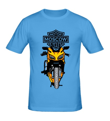 Мужская футболка Motor Moscow Cycles