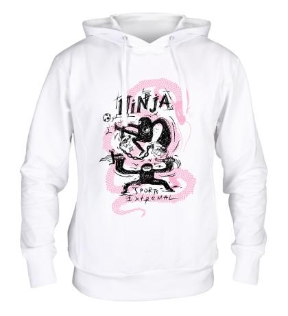 Толстовка с капюшоном Ninja sports