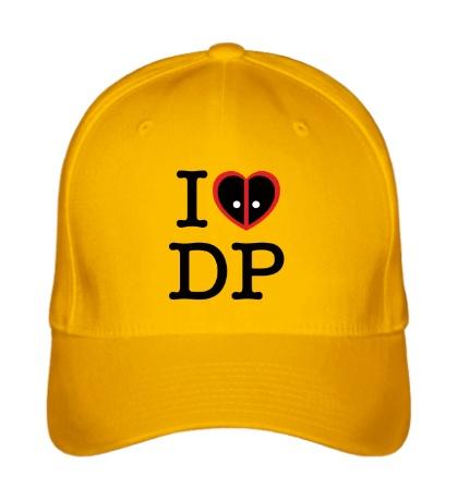 Бейсболка I love deadpool