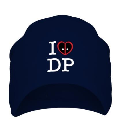 Шапка I love deadpool