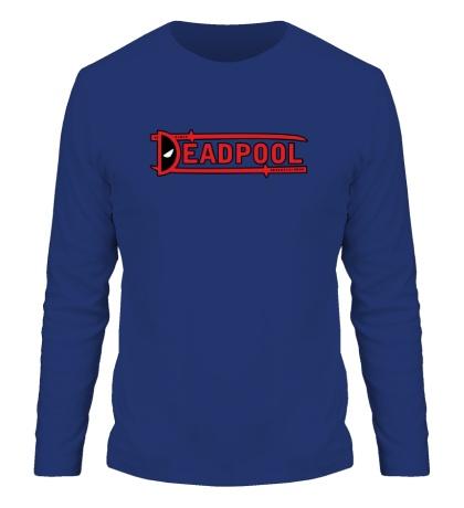 Мужской лонгслив Deadpool Samurai