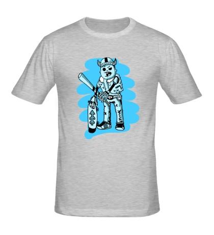 Мужская футболка Викинг Скейтер