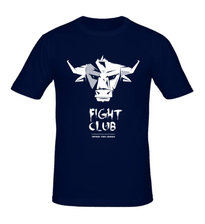 Мужская футболка Bull: Fight club