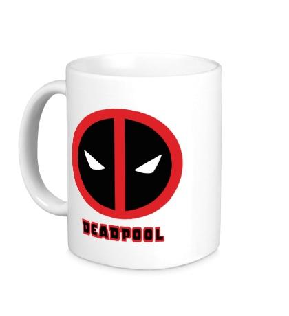 Керамическая кружка Deadpool Mask