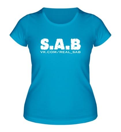 Женская футболка SAB