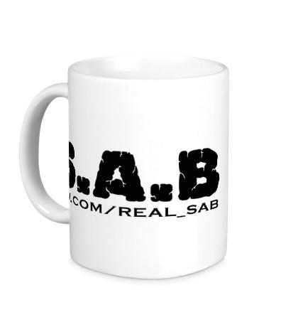 Керамическая кружка SAB