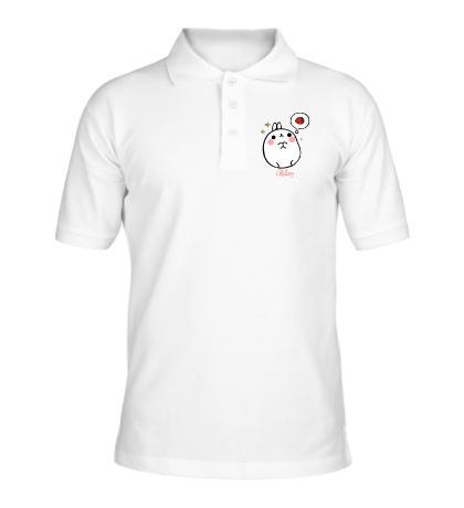 Рубашка поло Кролик Моланг и клубника