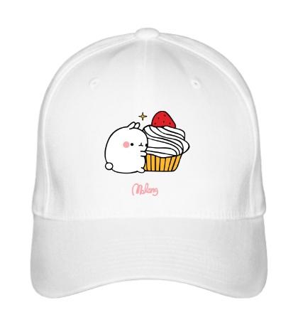 Бейсболка Кролик Моланг и кекс