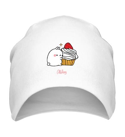 Шапка Кролик Моланг и кекс