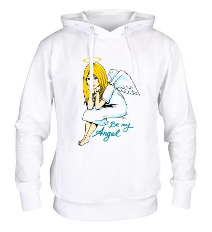 Толстовка с капюшоном Be my Angel