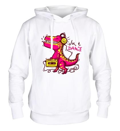 Толстовка с капюшоном Just Dance Dino
