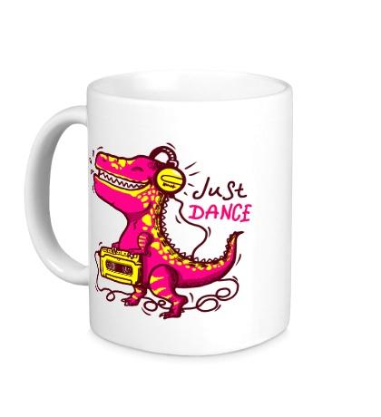 Керамическая кружка Just Dance Dino