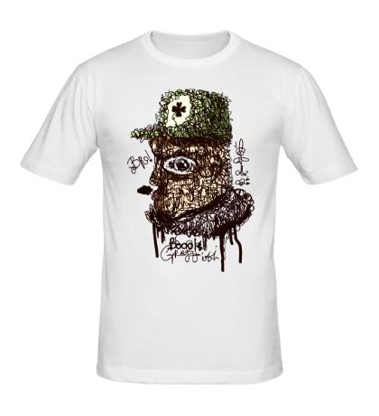 Мужская футболка Граффити BRO